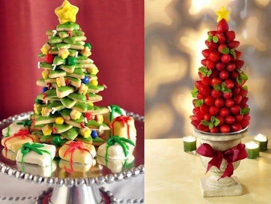 albero di Natale con biscotti