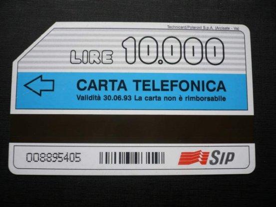 carta telefonica