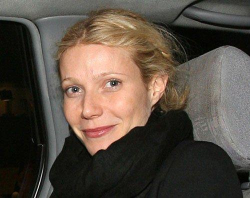 Gwyneth Paltrow senza trucco
