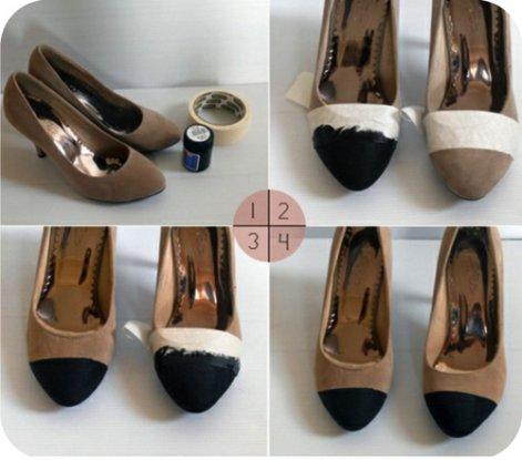 riciclare le scarpe
