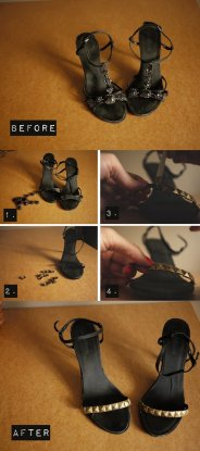 riciclare scarpe