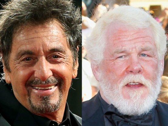 Al Pacino e Nick Nolte nati nel 1940