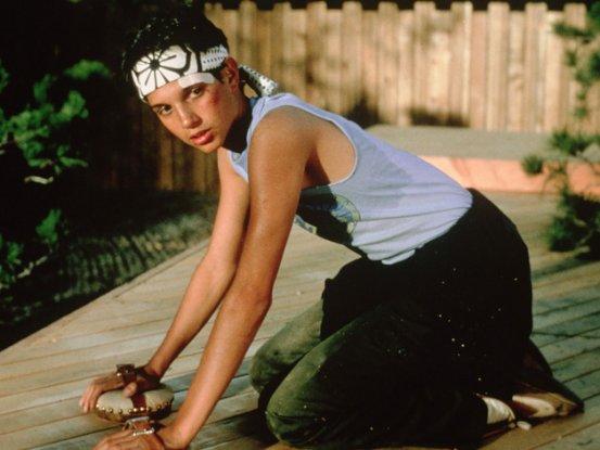 Ralph Macchio in Karate Kid