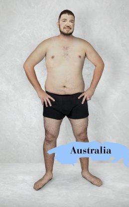 uomo ideale Australia