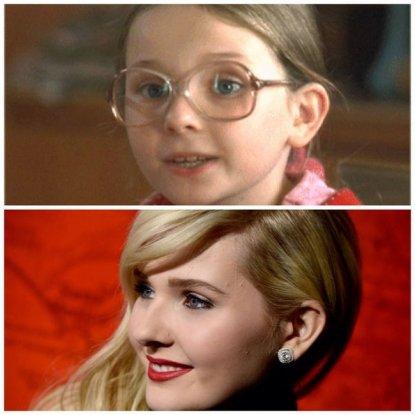 Abigail Breslin ieri e oggi