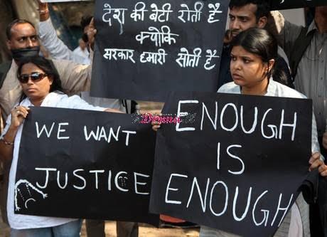 Rally to mourn gang rape victim
