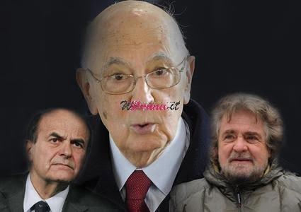 Napolitano 'vigila' su Bersani e Grillo