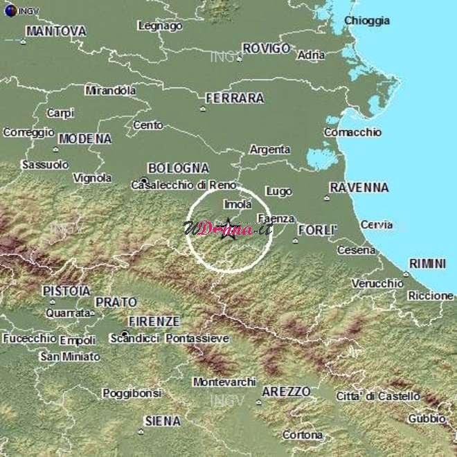 terremoto bologna ravenna