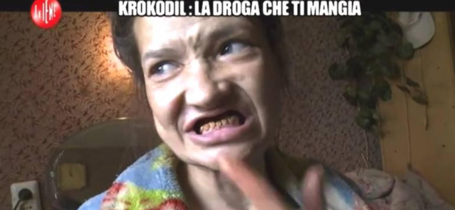 Krokodil: la nuova droga che ti mangia vivo