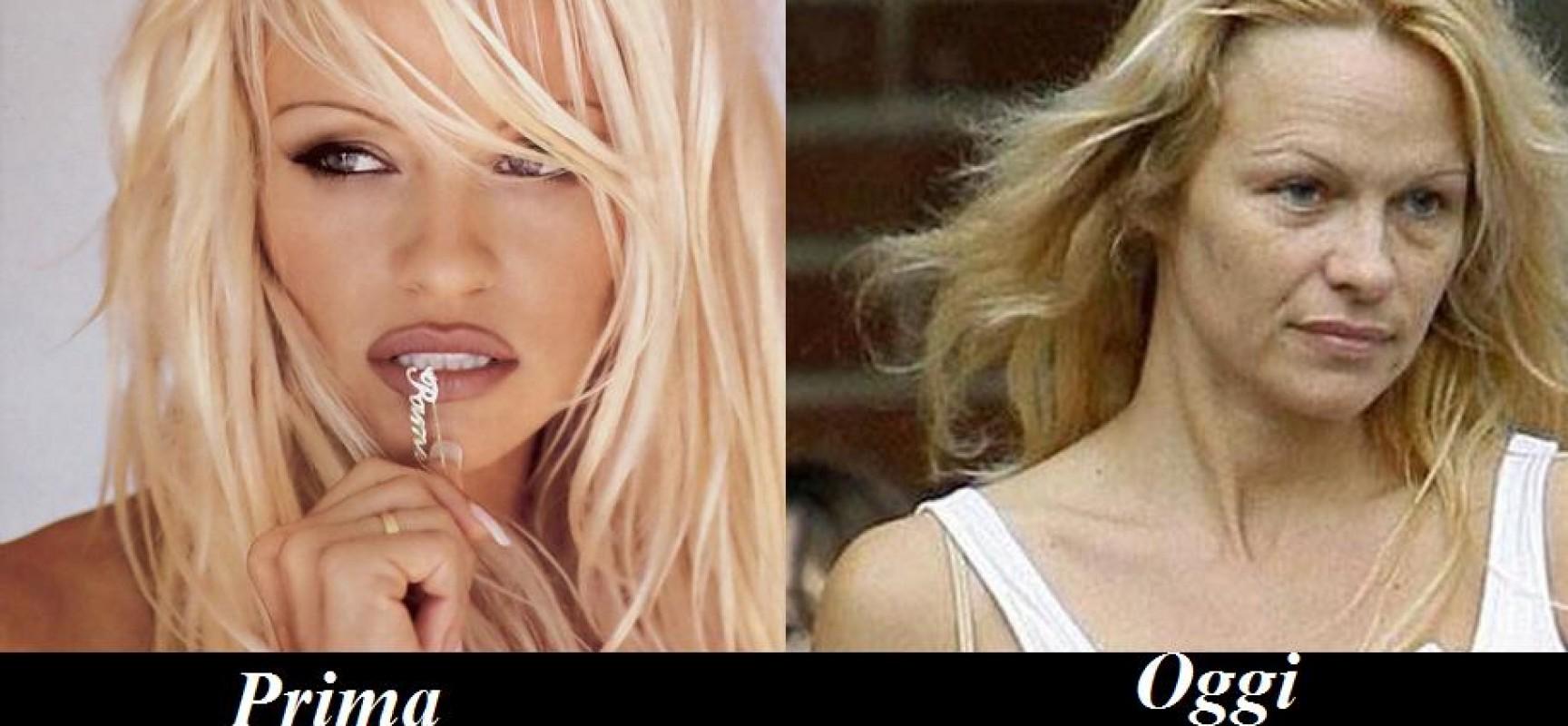 Pamela Anderson invecchiata. Foto impressionante Pamela-Anderson-da-giovane-1728x800_c
