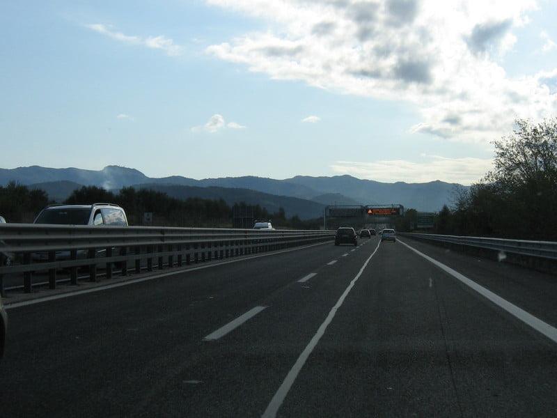autostrada Roma-L'Aquila