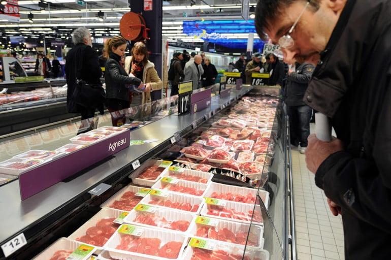 carne non identificata