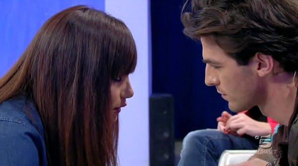 Andrea Offredi fine della storia con Claudia