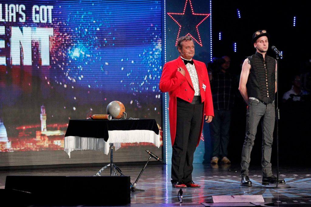 Giabba e Abraxas a  Italia's Got Talent