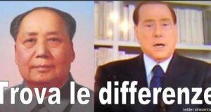 Mao e Berlusocni a confronto