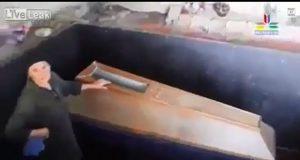 Georgia madre tiene figlio in una bara in casa mummificato