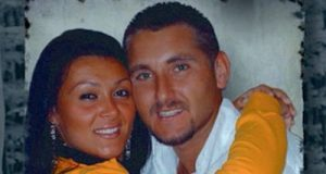 Melania Rea con Salvatore Parolis