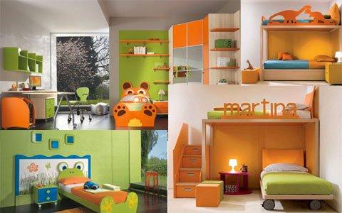 Camere Per Ragazzi 2 Letti : Idee camerette per bambini wdonna