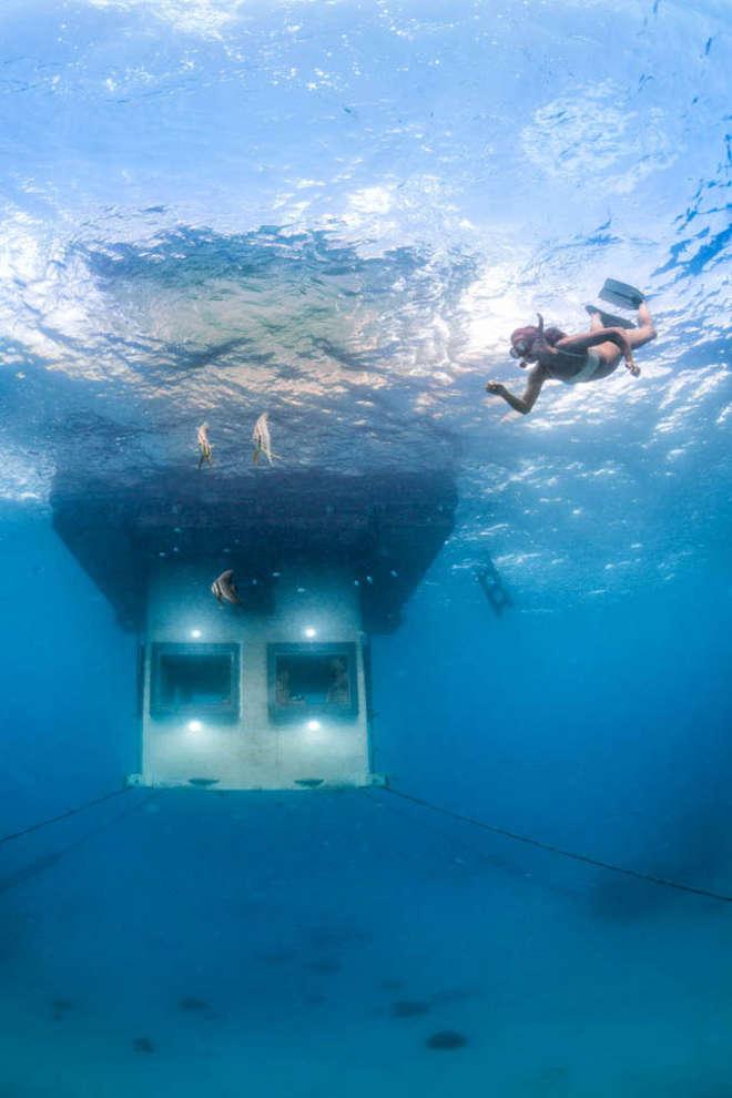 hotel sott'acqua