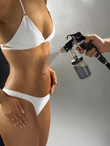 abbronzatura spray-