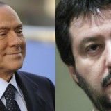 "Salvini apre a Berlusconi: ""Uniti contro Renzi"""