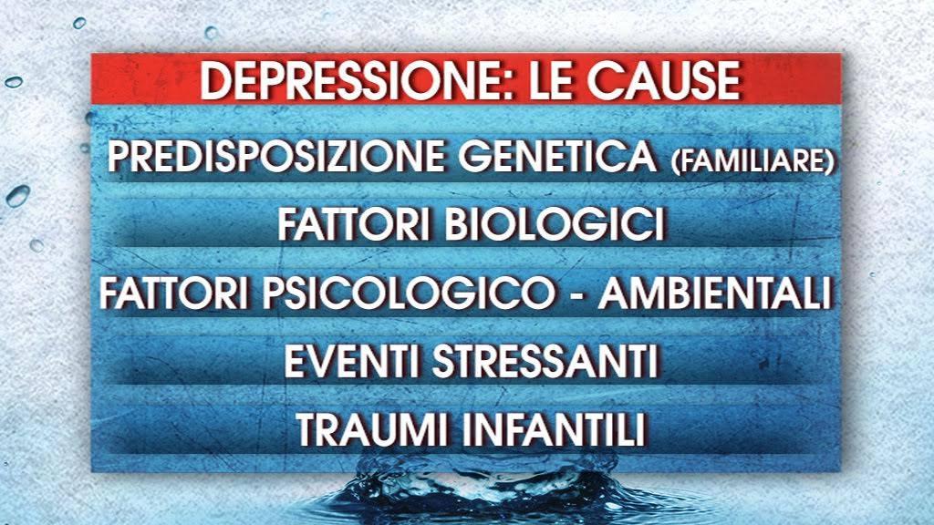 depressione cause