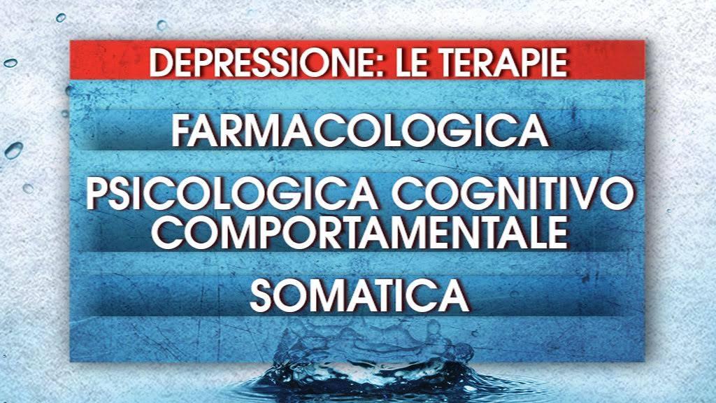 depressione terapie