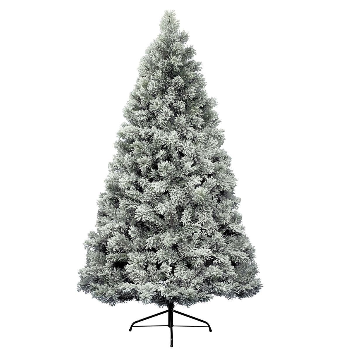 albero innevato