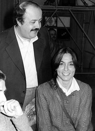 Flaminia Morandi e Maurizio Costanzo