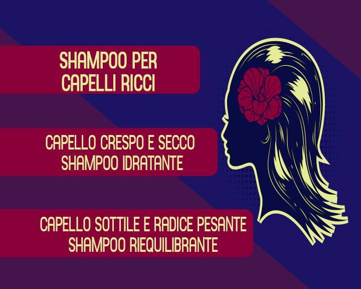 shampo capelli ricci