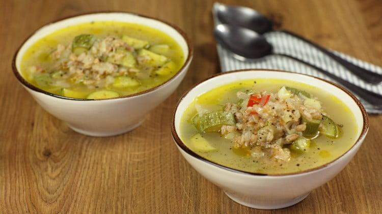 zuppa porri