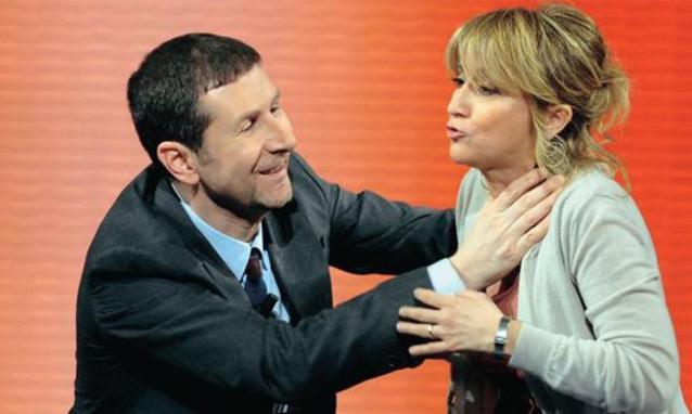 Fabio-Fazio e Luciana Littizzetto