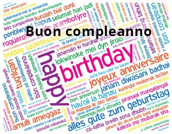 Popolare Buon compleanno in tutte le lingue del mondo - WDonna.it NO57