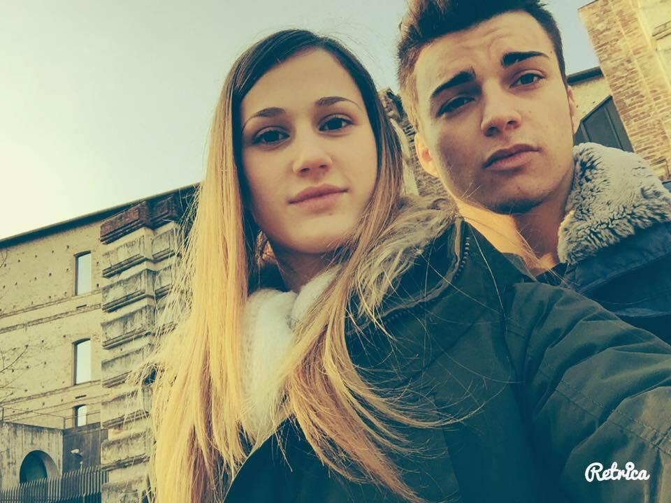 Fabio Basile con Sofia Petitto