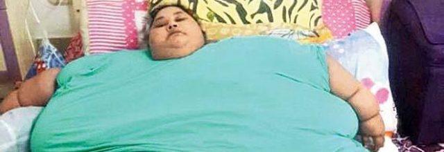 donna più grassa del mondo è morta