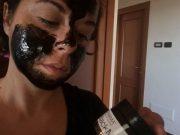 Maschera nera Eufarma contro punti neri ed impurità
