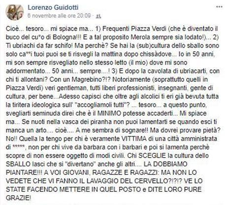 Ragazza stuprata a Bologna. Don Lorenzo Guidotti: