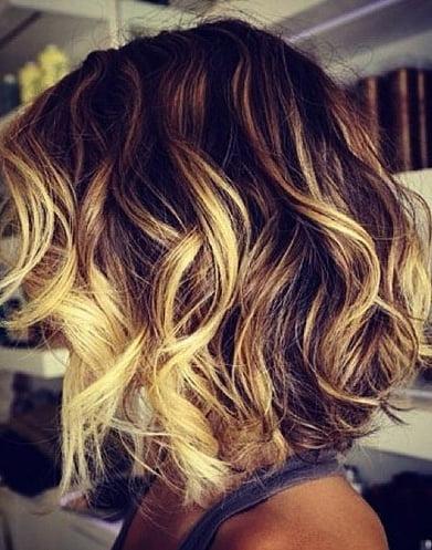 Colori di capelli con mesh