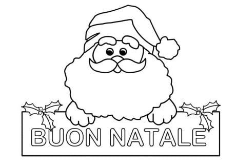 Immagini Del Natale Da Colorare.Disegni Da Colorare E Stampare Del Natale Fredrotgans