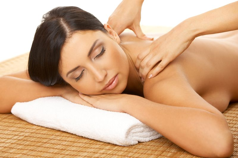 donna eccitante massaggio erot