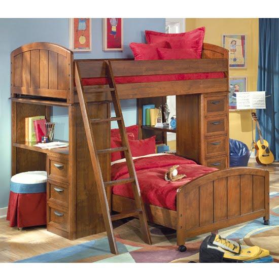 Idee camerette per bambini - Camerette bambini legno naturale ...