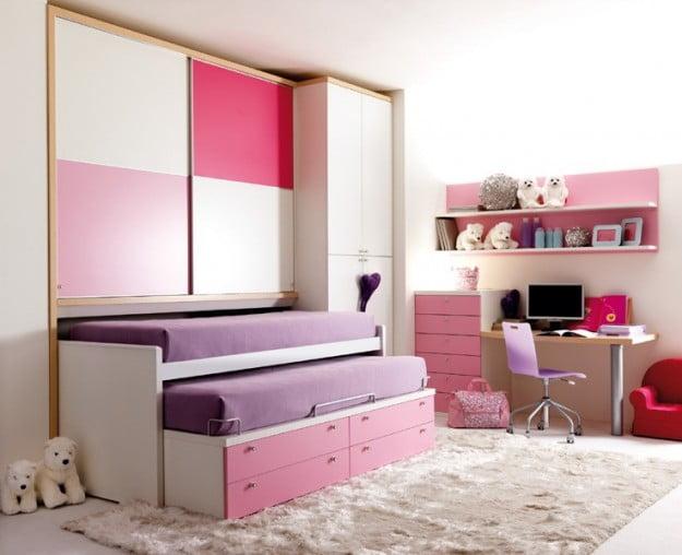 Camerette da principesse disegno idea letti da cameretta for Cameretta rosa