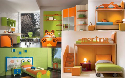 Idee camerette per bambini - Arredare camerette per bambini ...