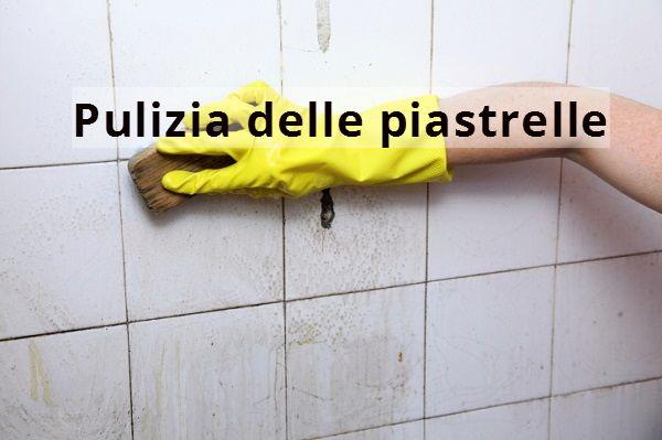 Come pulire e lucidare le piastrelle - Pulire le fughe delle piastrelle del pavimento ...